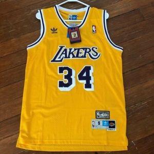Hardwood Classic Shaq O'Neal Lakers Jersey